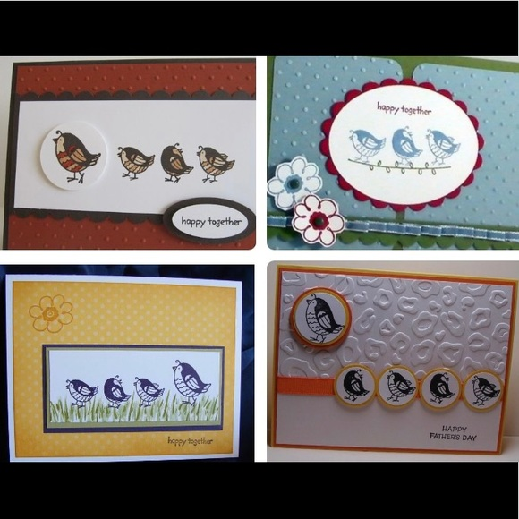 Adorable 5pc Stampin Up Set